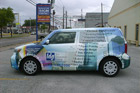 Houston Vehicle Wraps - TDG Scion