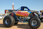 Houston Vehicle Wraps - Monster Truck