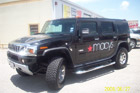 Houston Vinyl Vehicle Decals - Macy's Hummer