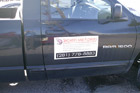 Houston Vinyl Vehicle Decals - Showers & Floors Truck