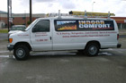 Houston Partial Vehicle Wraps - Indoor Comfort Van